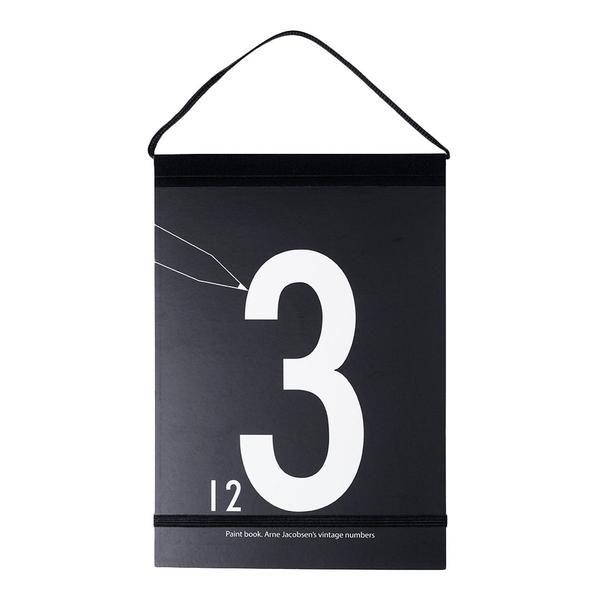 design letters kleurboek cijfers