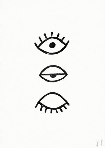 fine little day eye eye poster