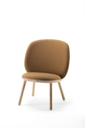 emko naive etc etc low chair loungestoel oker
