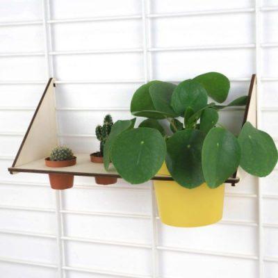 tolhuijs fency wandrek planten plank 3 gaten