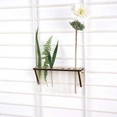 tolhuijs fency wandrek planten plank reageerbuisjes
