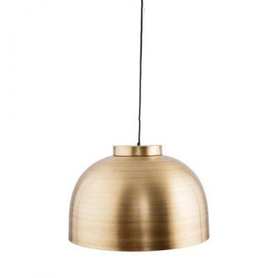 house doctor hanglamp bowl groot brass