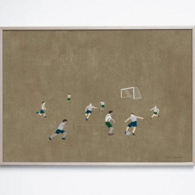 fine little day poster soccer