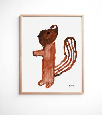 fine little day poster squirrel eekhoorn
