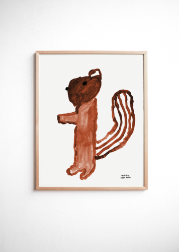 Fine Little Day Squirrel Poster
