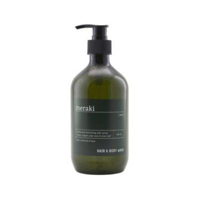 meraki hair and body wash men
