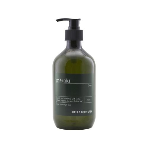 meraki hair and body wash men