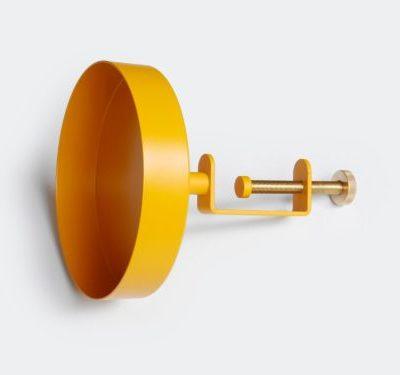 navet stkhlm clamp tray klein mustard mosterd