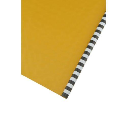 house doctor monograph gift wrapping inpakpapier stripes black grey zwart grijs