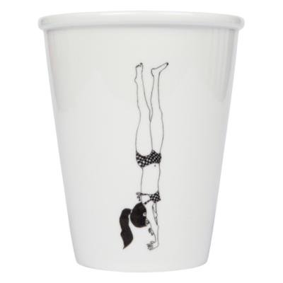 helen b beker cup handstand girl
