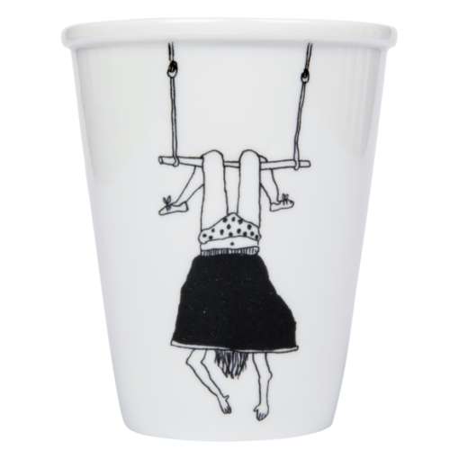 helen b beker cup trapeze girl