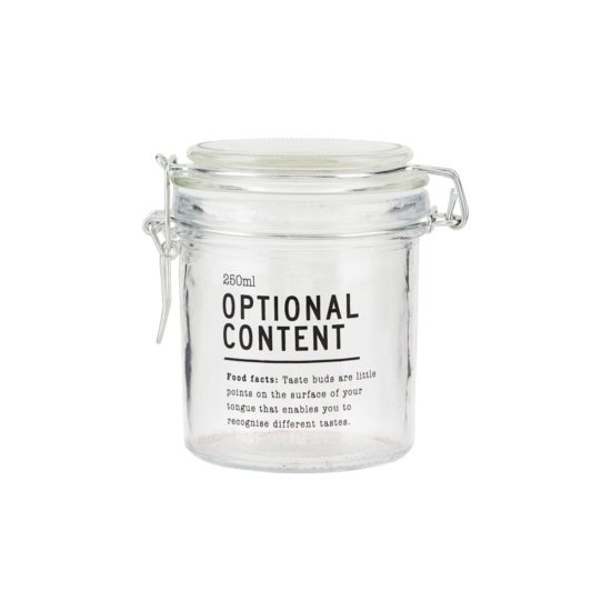 house doctor jar pot optional content 250 ml