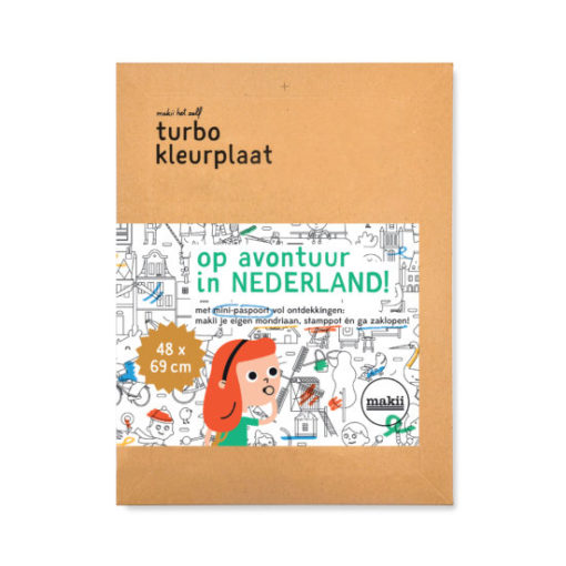 makii mega colouring picture turbo kleurplaat netherlands nederland