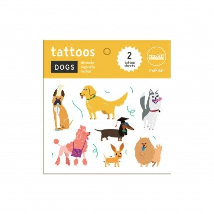 makii tattoos dogs honden
