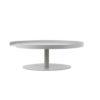 designbite big hug cake stand taartenstandaard dienblad tray level 1 bone grijs