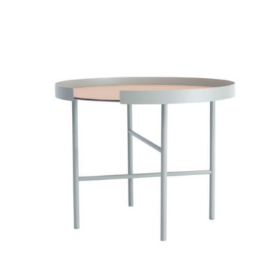 designbite big hug coffee table bijzettafel salontafel round rond bone grijs