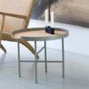 designbite big hug coffee table bijzettafel salontafel round rond bone grijs