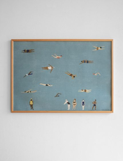 Fine Little Day Swimmers Poster