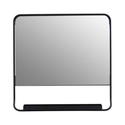 society of lifestyle house doctor mirror spiegel black zwart chic 45 x 45 cm