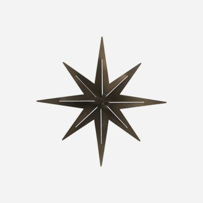 house doctor society of lifestyle star ornament gunmetal ster zwart black accessoires accessories