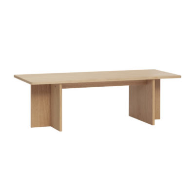 hubsch hübsch interior coffee table bijzettafel salontafel beistelltisch oak eiken eiche nature naturel