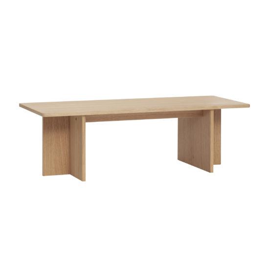 hubsch hübsch interior coffee table bijzettafel salontafel beistelltisch oak eiken eiche nature naturel