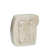 hubsch hübsch interior wall art ceramics wand kunst keramiek beige zand