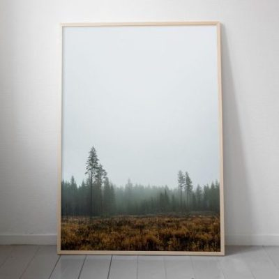 fine little day poster skog 70 x 100 cm