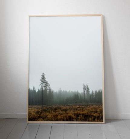 fine little day poster skog 70 x 100 cm