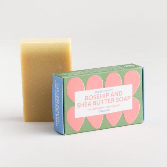Foekje Fleur Organic Rosehip With Sheabutter Rozenbottel Met Sheaboter soap zeep