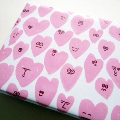 jungwiealt barbara dziadosz geschenkpapier gift wrapping inpakpapier hearts