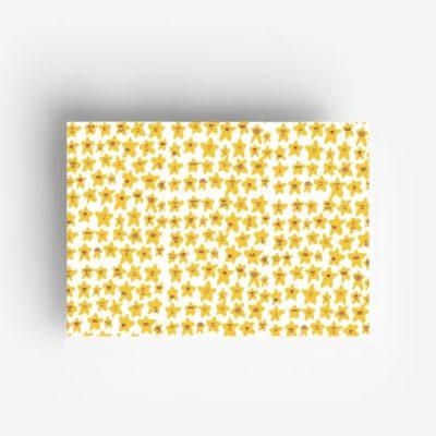 jungwiealt barbara dziadosz geschenkpapier gift wrapping inpakpapier stars sterren