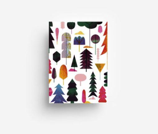 jungwiealt barbara dziadosz postkarte postcard ansichtkaart kaart woodland