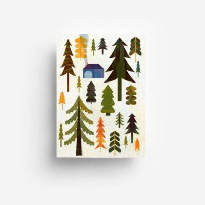 jungwiealt barbara dziadosz postkarte postcard ansichtkaart kaart woods