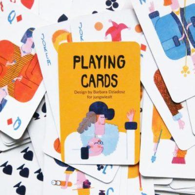 Jungwiealt barbara dziadosz spielkarten playing cards kaarten