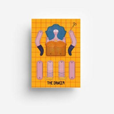 jungwiealt barbara dziadosz postkarte postcard ansichtkaart kaart the dancer