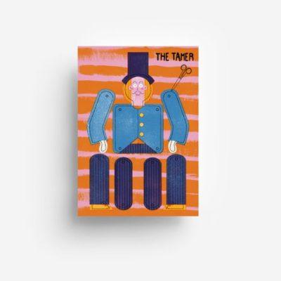 jungwiealt barbara dziadosz postkarte postcard ansichtkaart kaart the tamer