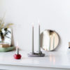 emko aye aye 2 candle holder kandelaar theelicht houder kerzenständer steam puffs grey lichtgrijs hellgrau grijs grau