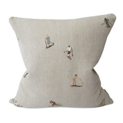 Kussenhoes Skiers Fine Little Day Cushion Cover Kissenbezug woonaccessoires
