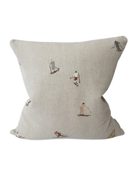Kussenhoes Skiers Fine Little Day Cushion Cover Kissenbezug woonaccessoires