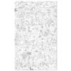 makii tykky kids kinderen toys speelgoed accessoires giant colouring picture turbo grote kleurplaat Jungle