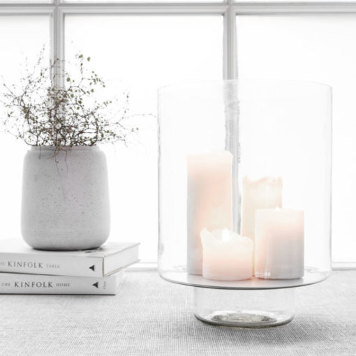 Lantaarn Lantern Glass Clear Windlicht Candle Stand Tykky Society of Lifestyle House Doctor