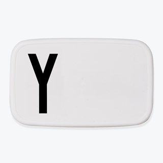 design letters personal lunchbox lunch box broodtrommel Q