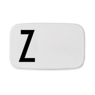 design letters personal lunchbox lunch box broodtrommel Z
