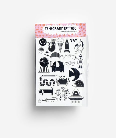 Temporary Tattoos Characters