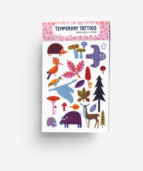 Temporary Tattoos Woodland