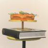 etagere cake stand kuchenplatte 1 level lemon licht geel gelb keukenaccessoires design bite tykky