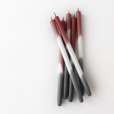 kaars candle kerze gradient foggy maroon mo man tai design tykky woonaccessoires gift idea kado tip geschenkidee