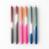 kaars candle kerze gradient foggy maroon poppy punch nautic olive mo man tai design tykky woonaccessoires
