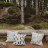 TALL kussenhoes cushion cover kissenbezug 50x50 cm embroidered fine little day tykky woontextiel wohntextilien